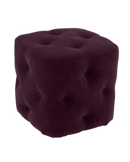 """""""Dixon"""" Cube Ottoman"""
