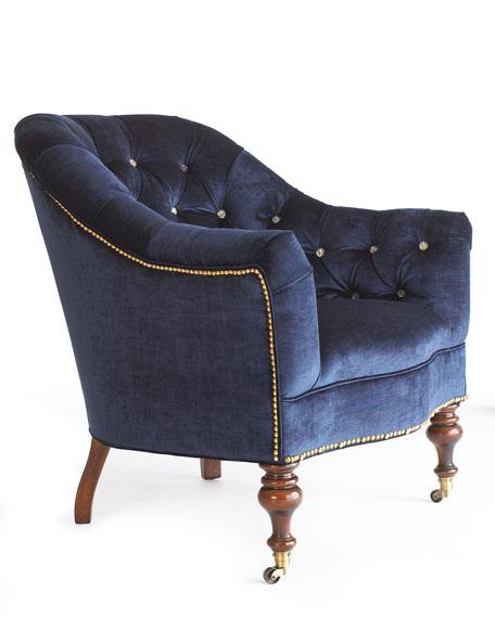 """Morton"" Tufted Chair"