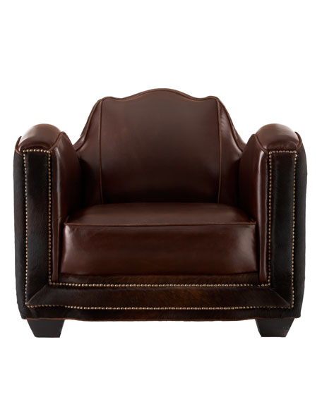 """Stedman"" Hairhide Chair"