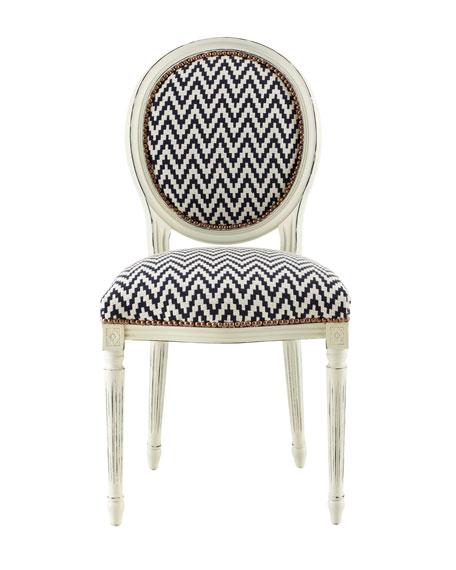 """Kuddos"" Chevron Chair"