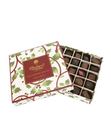 """Holly & Berry"" Chocolate Assortment"