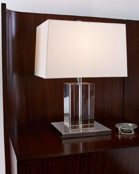 Lauren Ralph Lauren Quot Payton Quot Lucite Table Lamp
