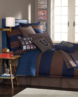 "Legacy Home ""Collegiate"" Bed Linens"