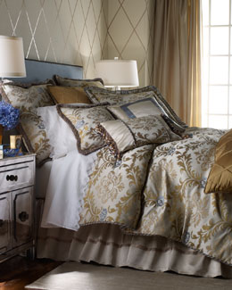 "Dian Austin Couture Home ""Azul"" Bed Linens"