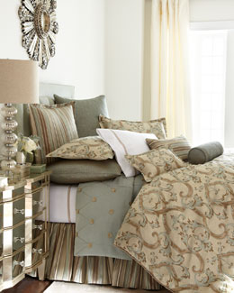 "Jane Wilner ""Siena Scroll"" Bed Linens"