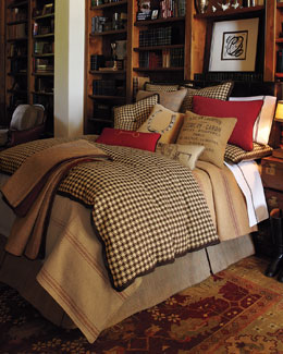 "French Laundry Home ""Equestrian"" Bed Linens"