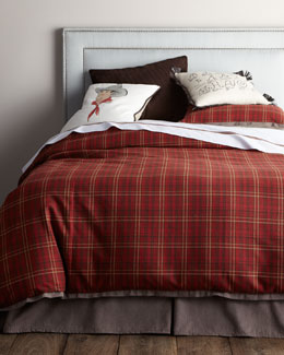 "French Laundry Home ""Kevin"" Bed Linens with Western Accents"