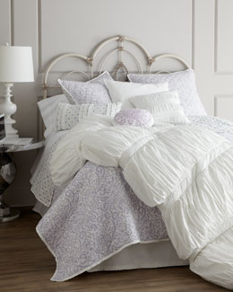 """Morning Dove"" Bed Linens"