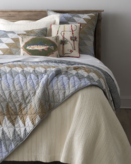 "Pine Cone Hill ""Diamond Patchwork"" Bed Linens"