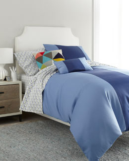 "Blue ""Elie"" Bed Linens"