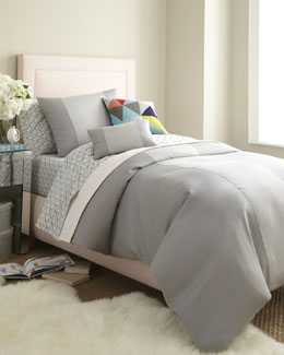 "Gray ""Elie"" Bed Linens"