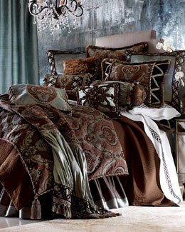 Dian Austin Couture Home Brompton Court Linens, Queen