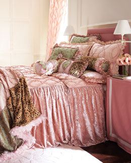 "Dian Austin Couture Home ""Sweet & Sassy"" Bed Linens, Queen"