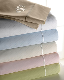 SFERRA Dotted Sheet Sets by Sferra