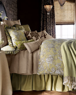 "French Laundry Home ""Spring Garden"" Bed Linens, Queen"