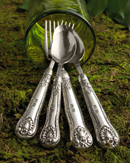 """Noto"" Pewter Flatware"