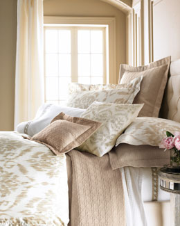 "SFERRA Marcus Collection ""Ikat"" Bed Linens & ""Cane"" Sheets"