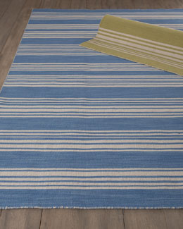 Striped Flatweave Rug