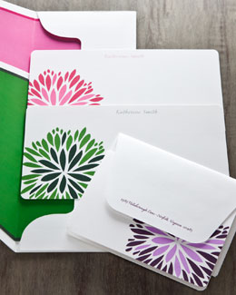 Atticus Paper Flower Notes & Envelopes