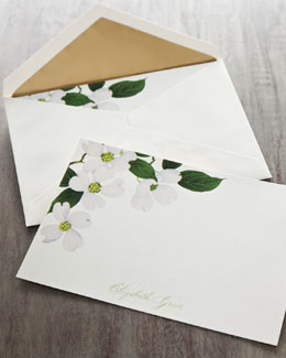 "Caspari ""Blossom"" Cards & Envelopes"
