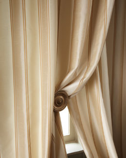 """Diplomat"" Striped Curtains"