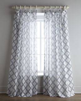 "Softline Home Fashions ""Ambrosia"" Sheer Curtains"