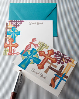 "KELLY KAY ""Colorful Crosses"" Notes & Cards"