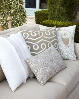 "ELAINE SMITH Outdoor ""Neutral"" Pillow Collection"
