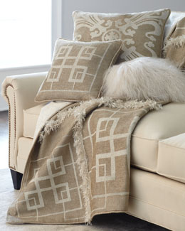 Neutral Pillows & Throw