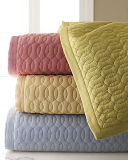 SFERRA Bradley Quilted Bedding