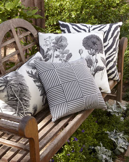 Black-and-White Pillow Collection