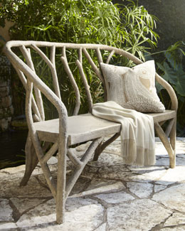 """Faux Bois"" Outdoor Furniture"