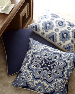 Blue & White Pillow Collection