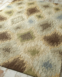 """Fuzzy Diamonds"" Rug"