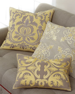 """Acanthus"" Pillow Collection"