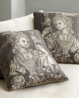 "Randi Pulvermacher ""Courtierre"" Pillow"