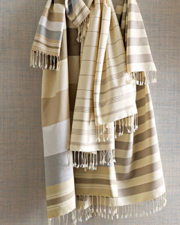 "Scents and Feel ""Fouta"" Towels"