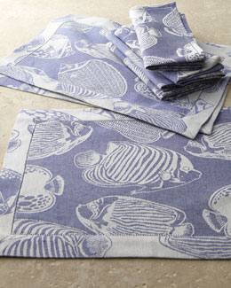 """Pesce"" Table Linens"