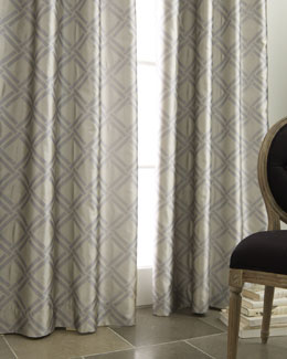 """Grid"" Curtains"