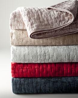 Matte Velvet Quilts & Shams