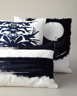 Ankasa Navy & White Pillows