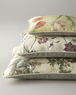 Randi Pulvermacher Floral Pillows