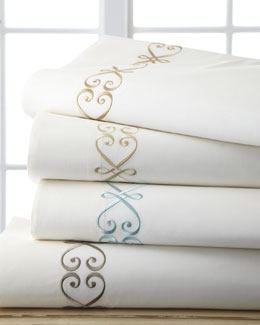 Embroidered Sheeting