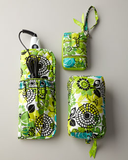 "Vera Bradley ""Lime's Up"" Travel Accessories"