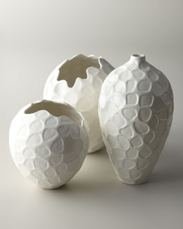 "NoCal ""Honeycomb"" Vases"