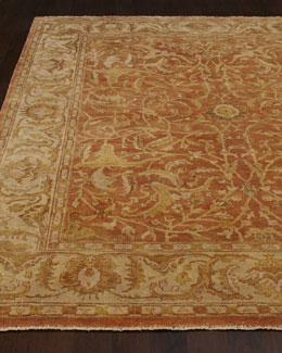 "Exquisite Rugs ""Red Ginger"" Oushak Rug"