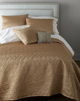 """Dian Austin Villa """"Precious Metal"""" Bed Linens"""
