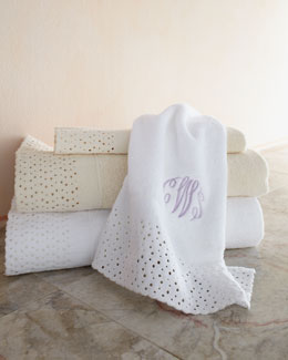 """Princess Lace"" Towels"