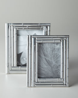 "Arthur Court ""Layered Bamboo"" Photo Frame"
