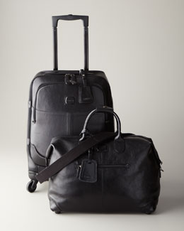 "Bric's Black ""Life Pelle"" Luggage"